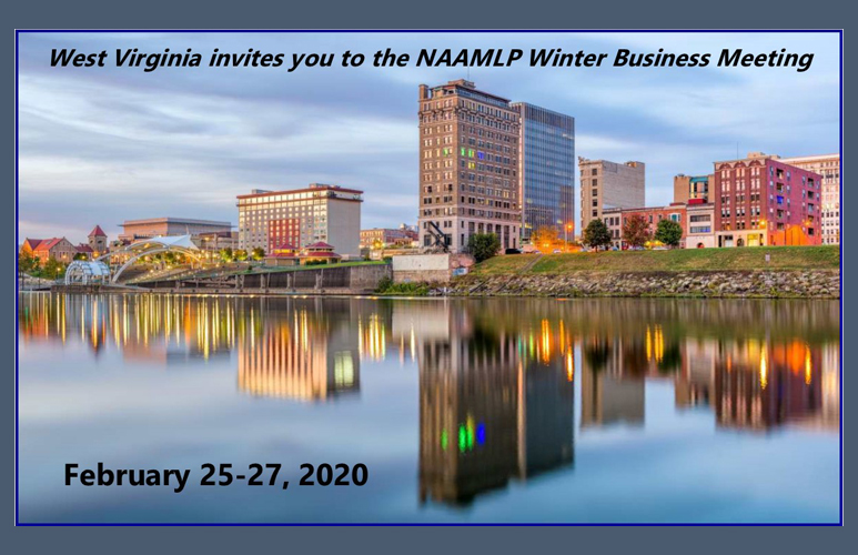2020 NAAMLP Winter Business Meeting Flyer